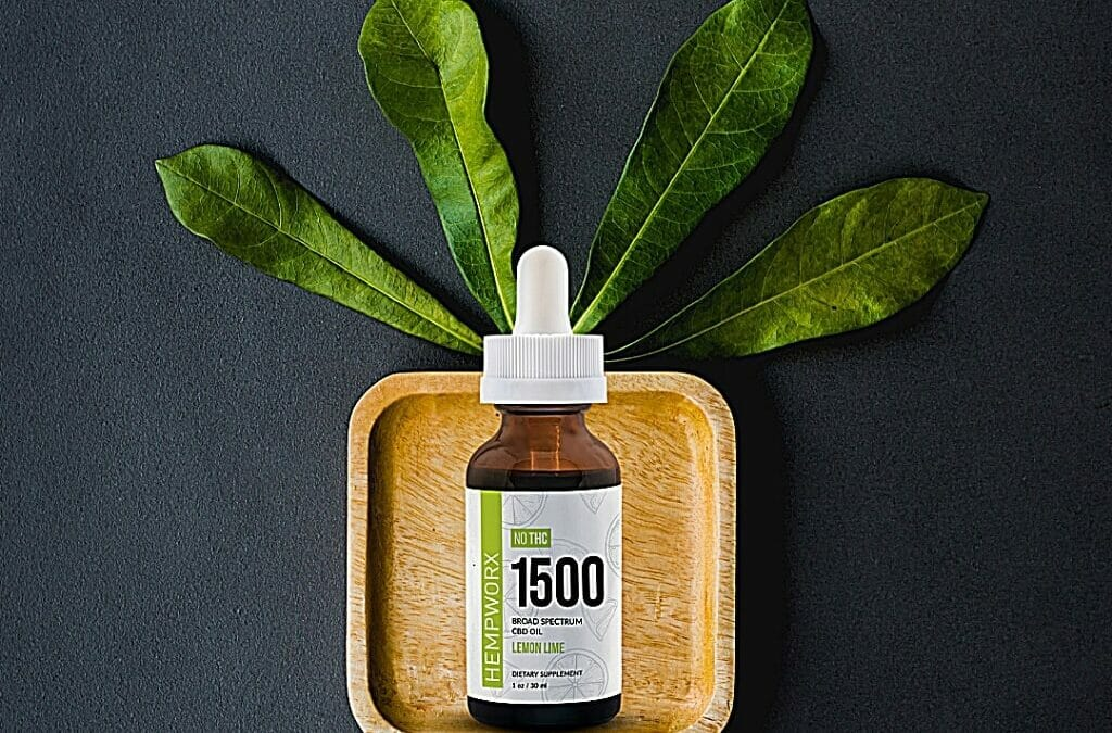 Save $50 on all 1500mg Broad Spectrum CBD Tinctures